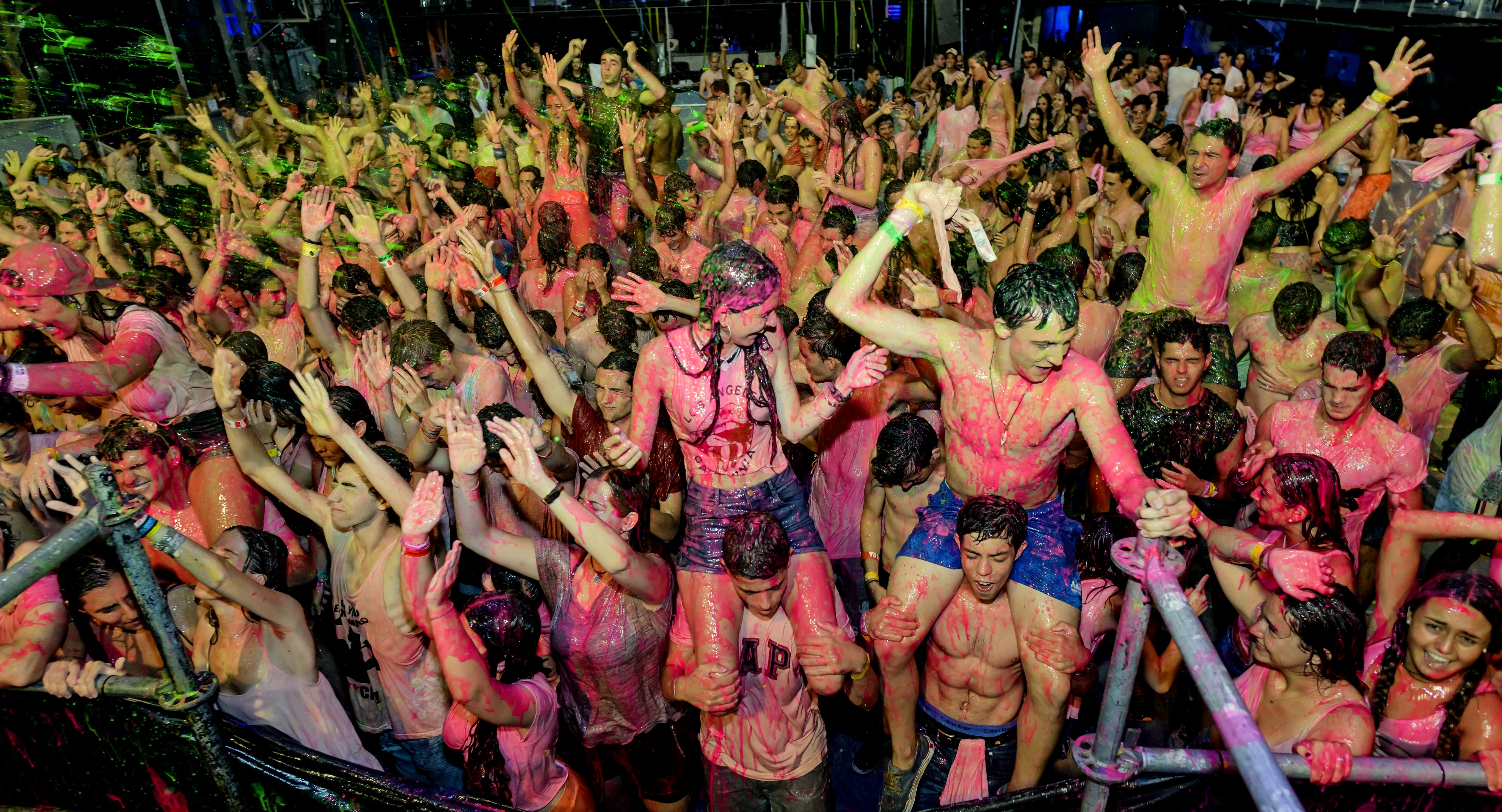 review life in color opening at privilege 2015 ibiza