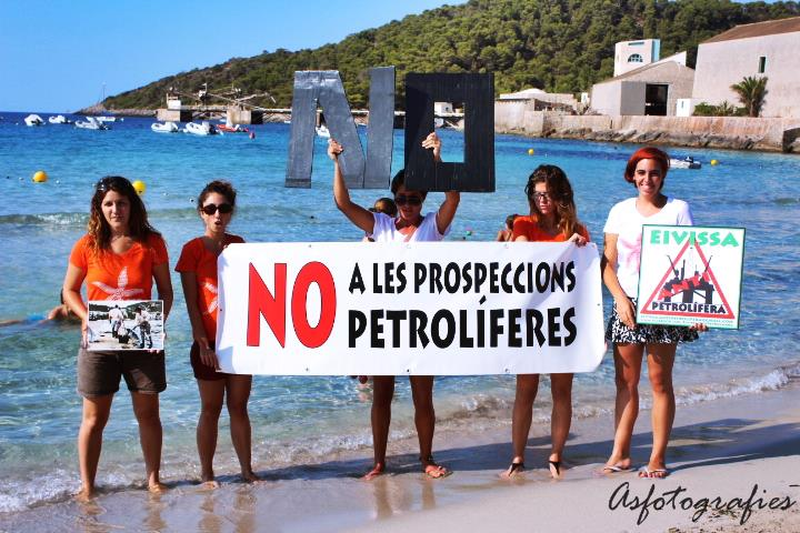 NO! To oil drilling in Ibiza!