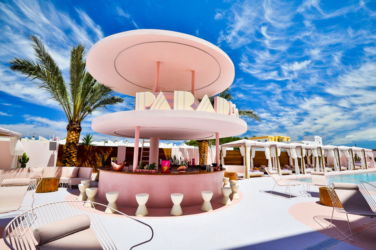 Clubbing Cool Stylish S Only Luxury New Hotel Offering Beautiful Art Deco Style And Exclusive Services In The Bay Of San Antonio