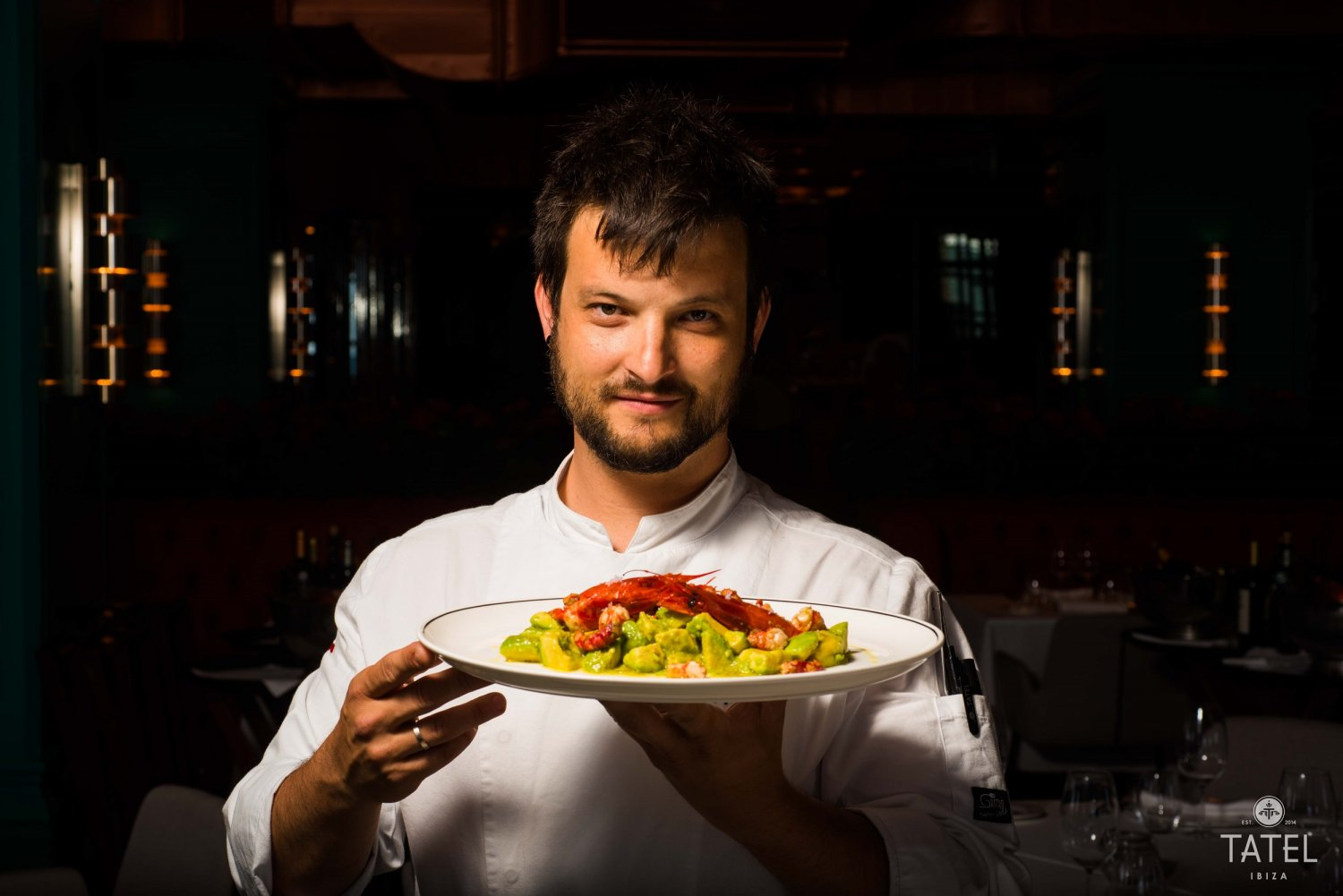 Nacho Chicharro, young and creative, Tatel Ibiza's head chef