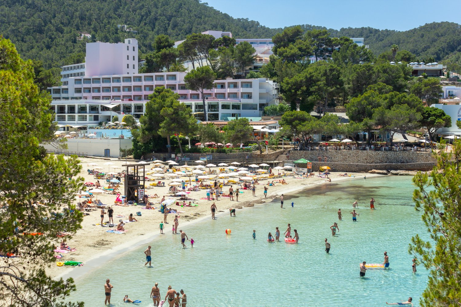 Portinatx Is A Complete Mini Resort Offering Crystal Clear Waters And Stunning Scenery With Accommodation Facilities To Ensure Stress Free Bliss