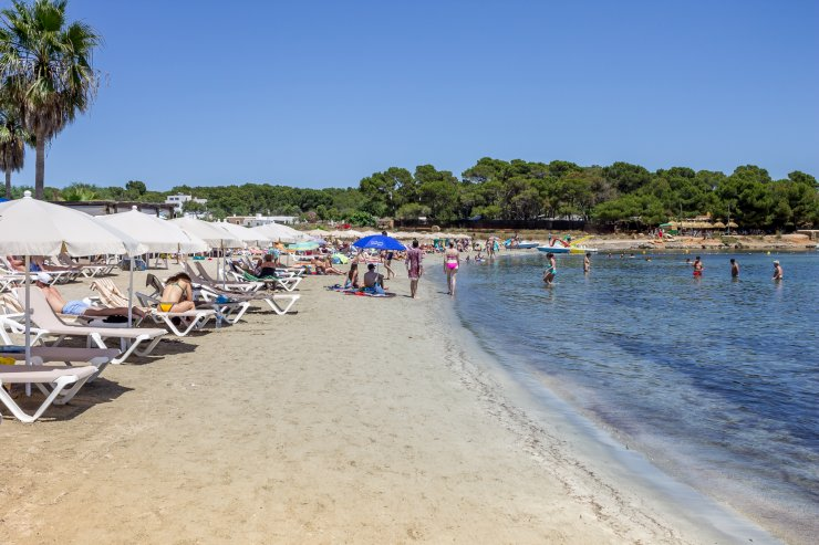 Cala Martina Beach Ibiza Spotlight