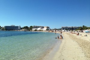 Ibiza gets active on the beach