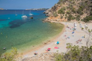 Getting away from it all at Cala Molí