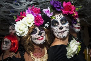 A night of fright: Halloween on Ibiza, 2016