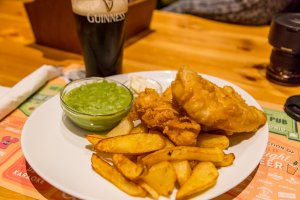 Flaherty's Friday fish 'n' chips
