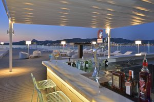 7 lush Ibiza hotels with roof terraces