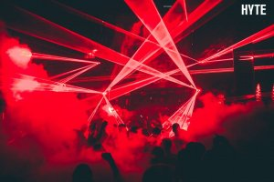 HYTE lands early with pre-opening party