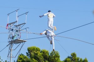 Nikki Beach's White Party brings on a circus fiesta