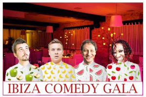 Best of British comedy night lands on Ibiza