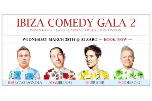 Second Ibiza Comedy Gala kicks off spring 2018