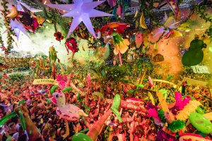 Brand new theme for elrow Ibiza opening