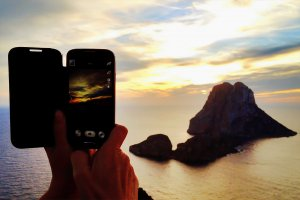Ibiza Winter Days Out - Sunset Over Es Vedra