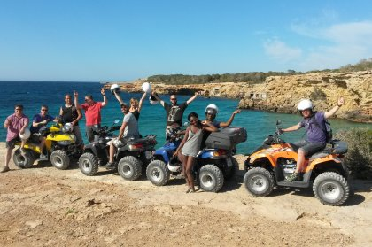 Quad & buggy excursions E Move Ibiza