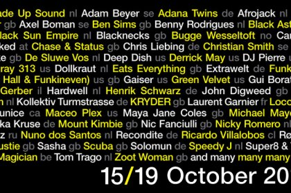 First artists announced for ADE 2014