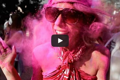 Video: Holi Garden Festival, every Thursday!