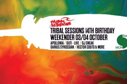 Tribal Sessions celebrates 14th Birthday in Manchester