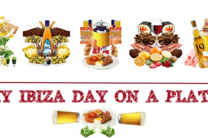 My Ibiza day on a plate