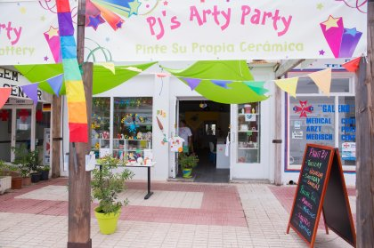 Review: PJ's Arty Party - Creative fun in Ibiza