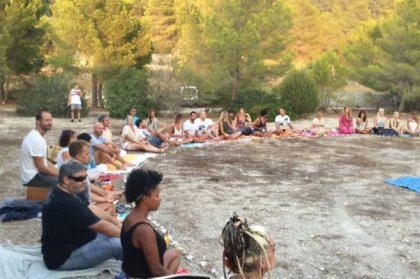 Review: Magical open air meditation in Ibiza
