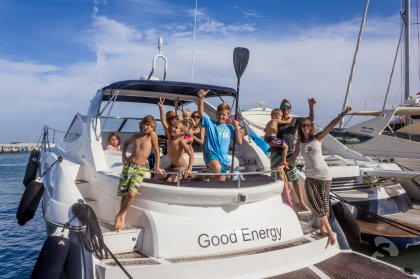 Review:  Ocean waves with Smart Charter Ibiza