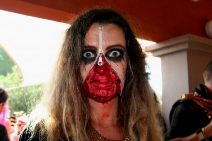 Ibiza Winter Diary - Halloween