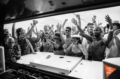 Float Your Boat teams with Cream Ibiza