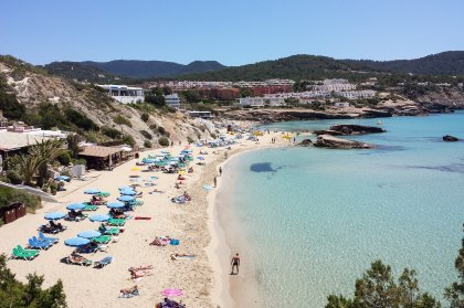 Peace and beauty at Cala Tarida