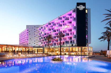 The heavenly Hard Rock Hotel Ibiza