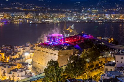 Review: An IMS Ibiza spectacular at Dalt Vila