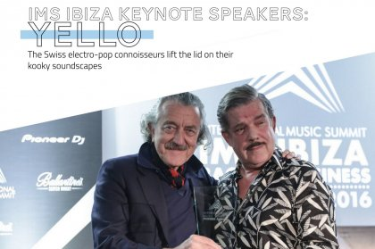 IMS Ibiza Keynote Speakers: Yello