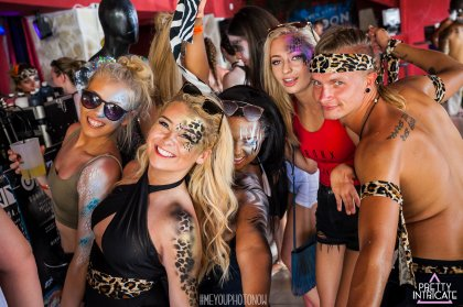 Review: Pretty Intricate body painting in Ibiza