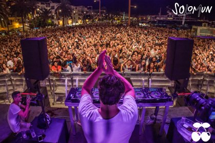 Video: FB Live from Solomun in Ibiza Town