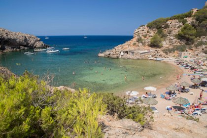 The seductive privacy of Ibiza's Cala Carbo beach