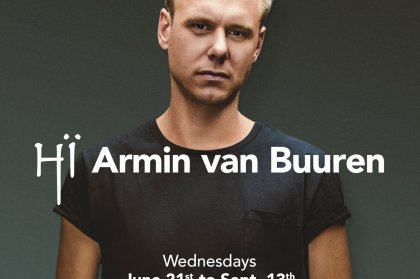 Armin van Buuren announced at Hï Ibiza