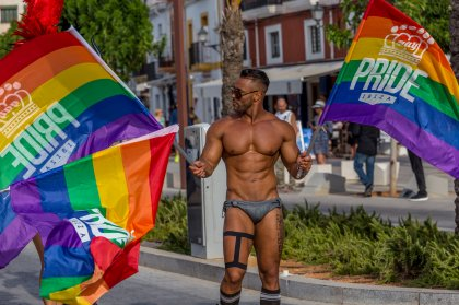 VIDEO: colour and magic at Ibiza Gay Pride 2017