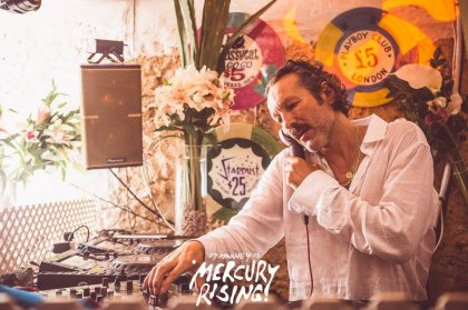 DJ Harvey's Mercury Rising residency back at Pikes