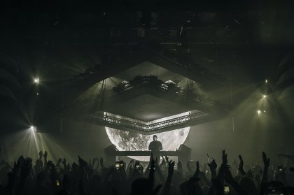 A climactic ending for Eric Prydz with Deadmau5 at Hï Ibiza