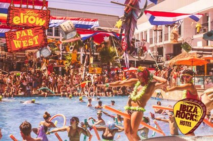 elrow brings the wild wild west to Ibiza Rocks