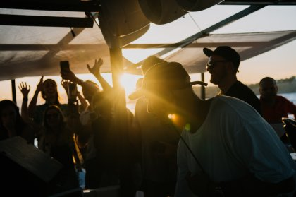 Secret boat party with Loco Dice by BURN Residency on Ibiza