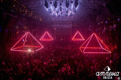 Special news for the upcoming Amnesia closing party