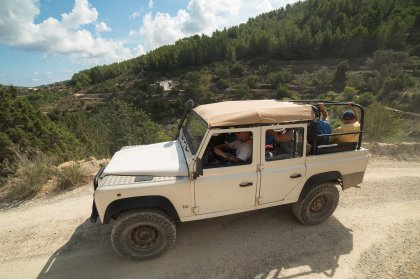 Exploring the real Ibiza on the Jeep Safari tour