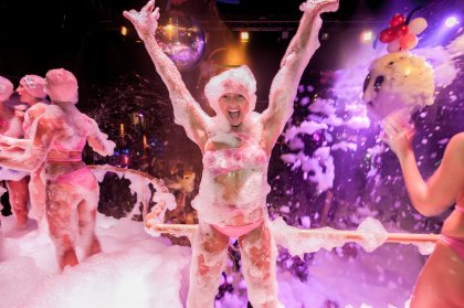 Espuma Bubbles & Foam Party back at Amnesia