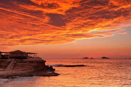 Top Ibiza sunset spots: Cala Conta