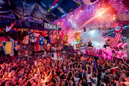 elrow drops opening party DJ details