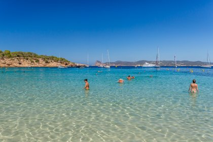 VIDEO: Cala Bassa, a beach jewel of Ibiza's west