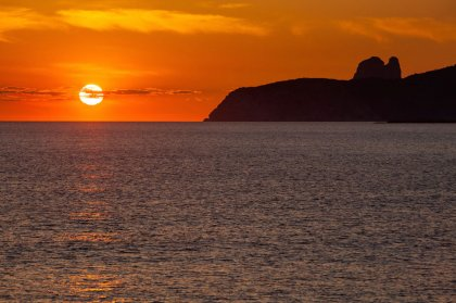 Top Ibiza sunset spots: Es Codolar beach