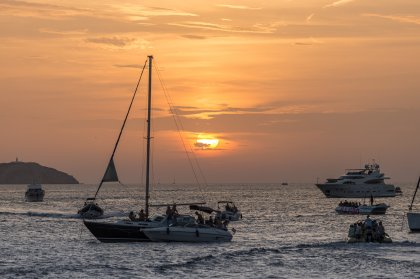 Top Ibiza sunset spots: Sunset Strip, San Antonio