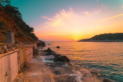 Top Ibiza sunset spots: Cala Salada