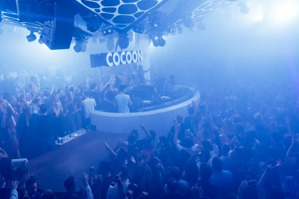 Cocoon grand opening party metamorphosis at Pacha